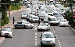 Israel traffic jam